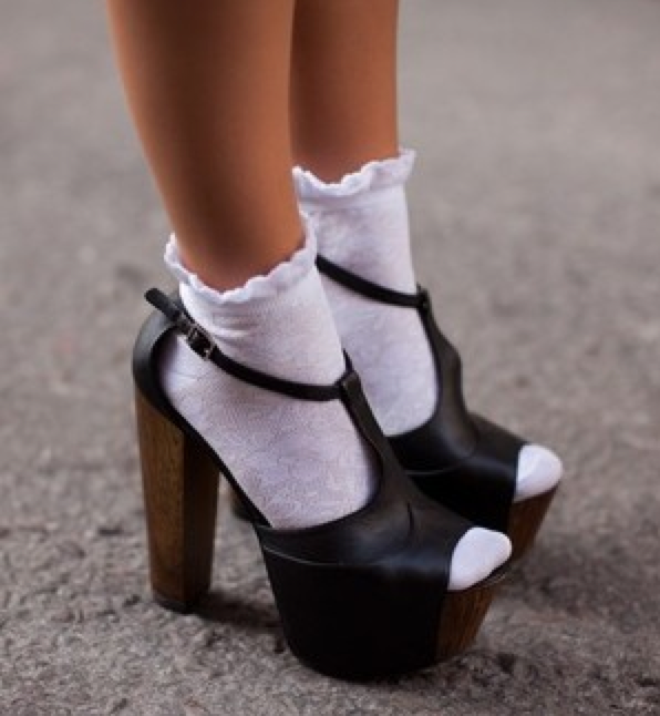 rocking socks with sandals