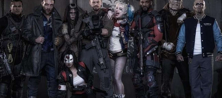 Margot Robbie sporting an interesting look for new movie role.