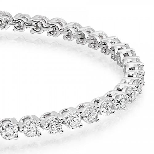Vashi's 5.00 Carat Tennis Diamond Bracelet