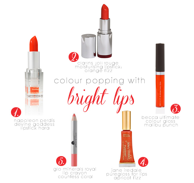Colour Popping Bright Lips