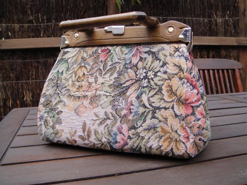 recycled fashion carpet bag