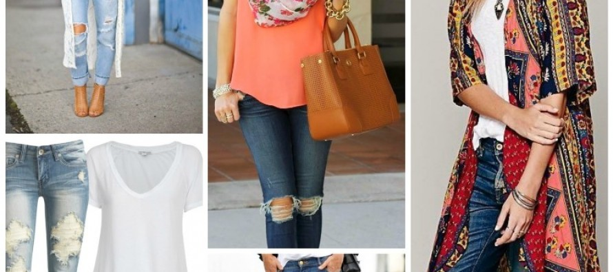 Get the Look: Distressed Jeans for all Occasions