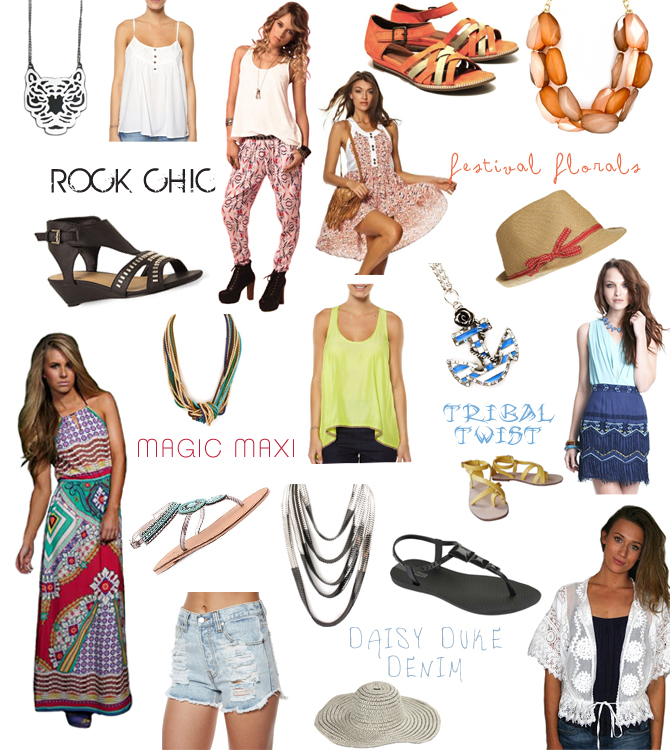 Festival Looks - Women's Fashion