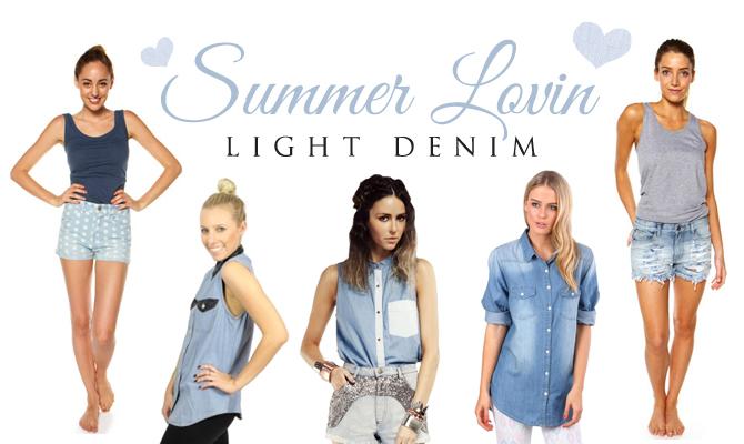 Light Denim - Women's Clothing