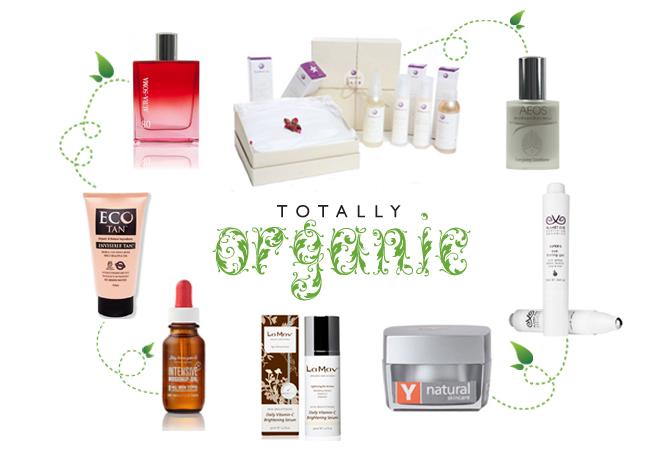 Organic Skincare and makeup