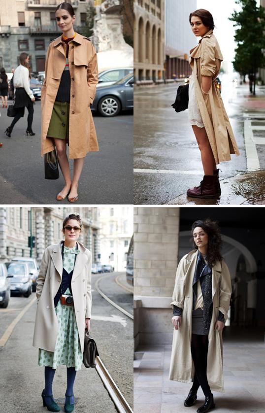 Parisian Style loves The Trench Coat