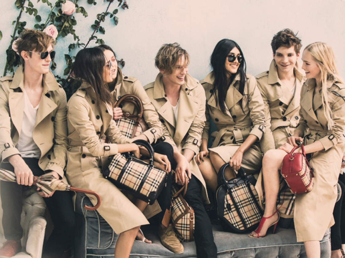 Iconic Burberry Trench 2014.