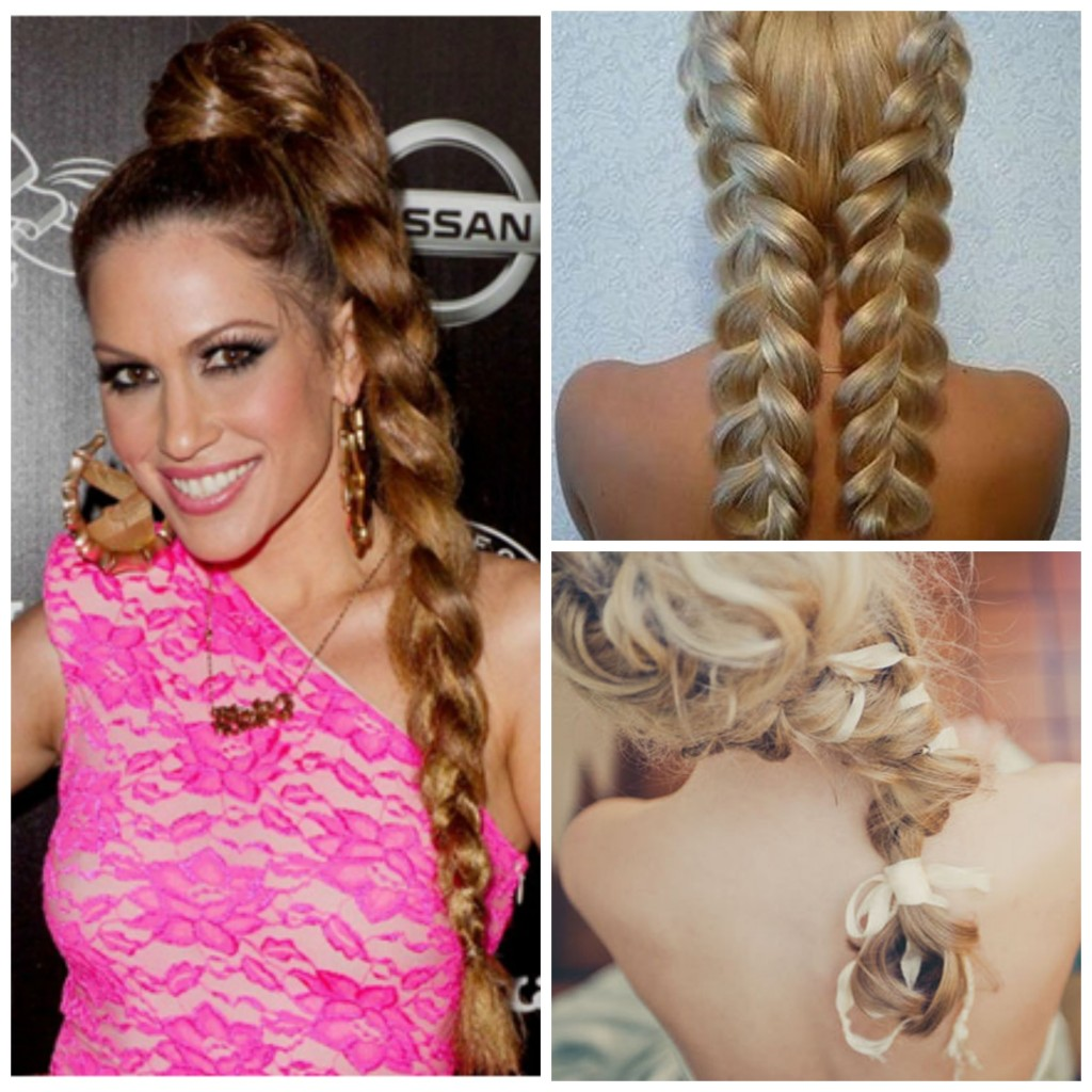 Images courtesy of therighthairstyles.com, unique-hairstyles.com and onewed.com