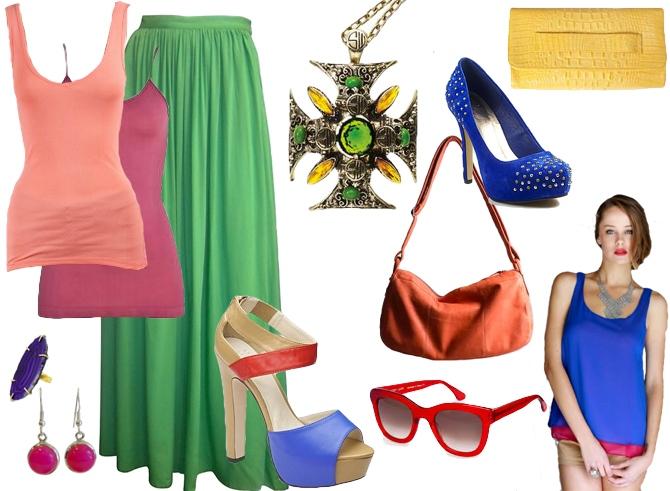Colour Blocking Fashion