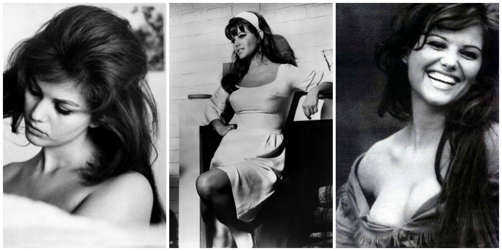 Images of Claudia Cardinale courtesy of Pinterest