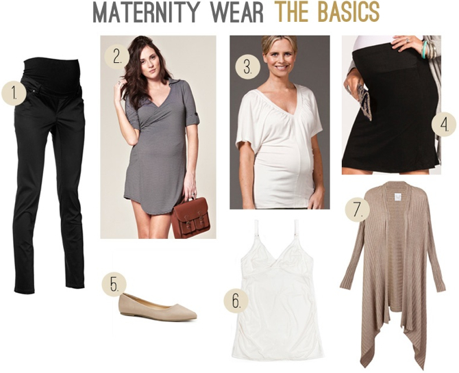 Maternity Clothing Basics