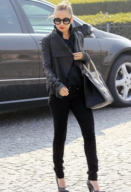 style icon nicole-richie-jeans-leather-jacket