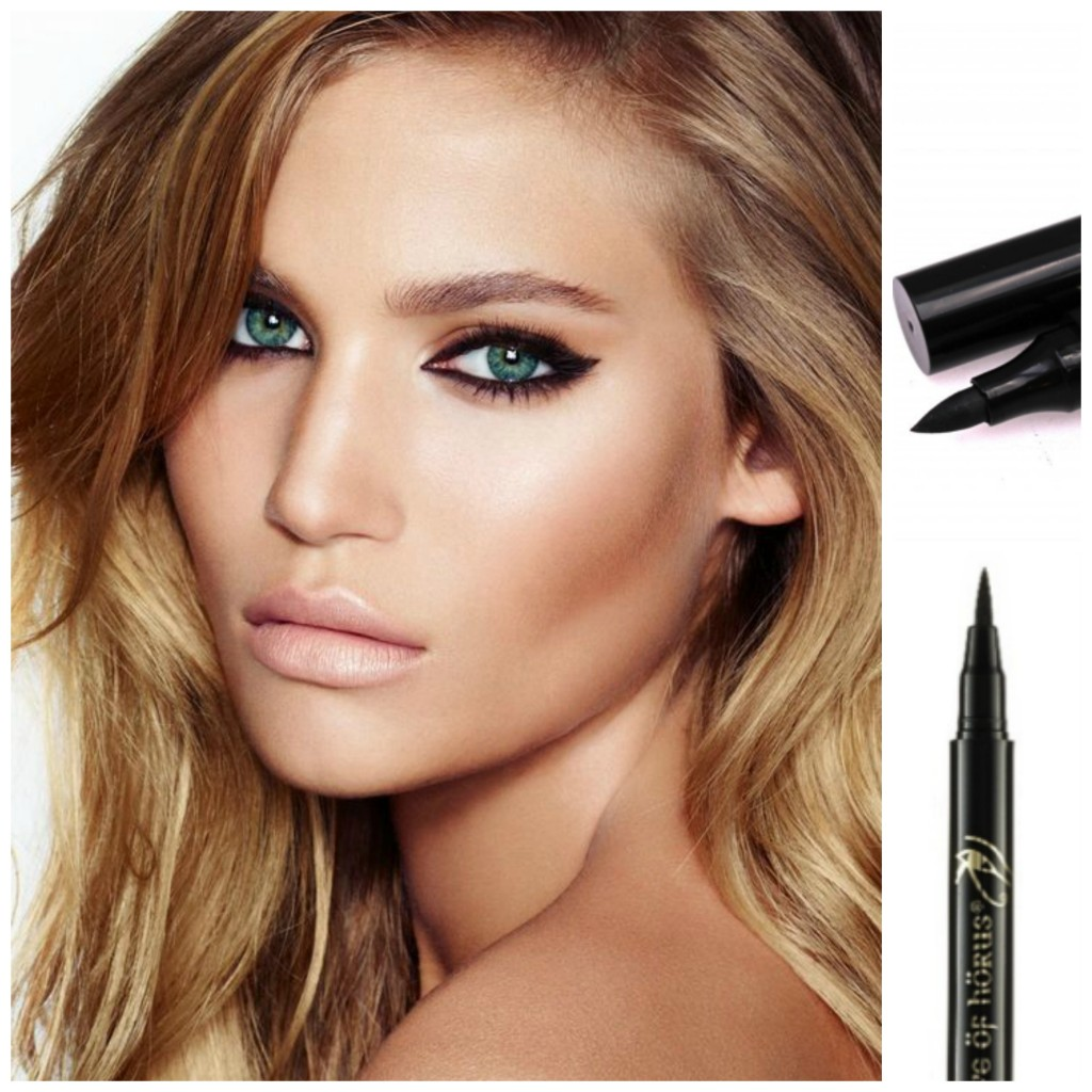 Images courtesy of glambistro.com, L'oral SuperLiner & Eye of Hours Liquid Define Eyeliner