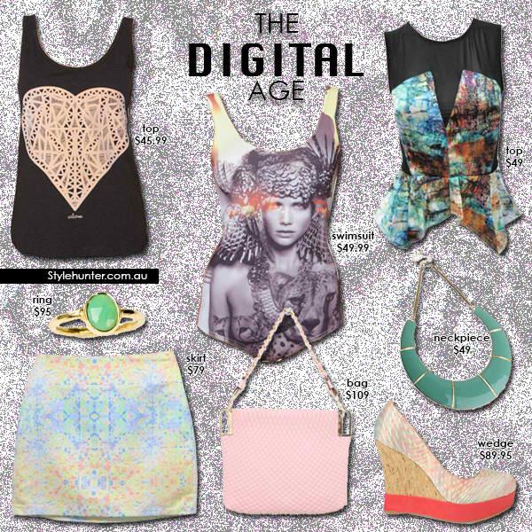 The Digital Age - Digital Prints - Digital Fashion