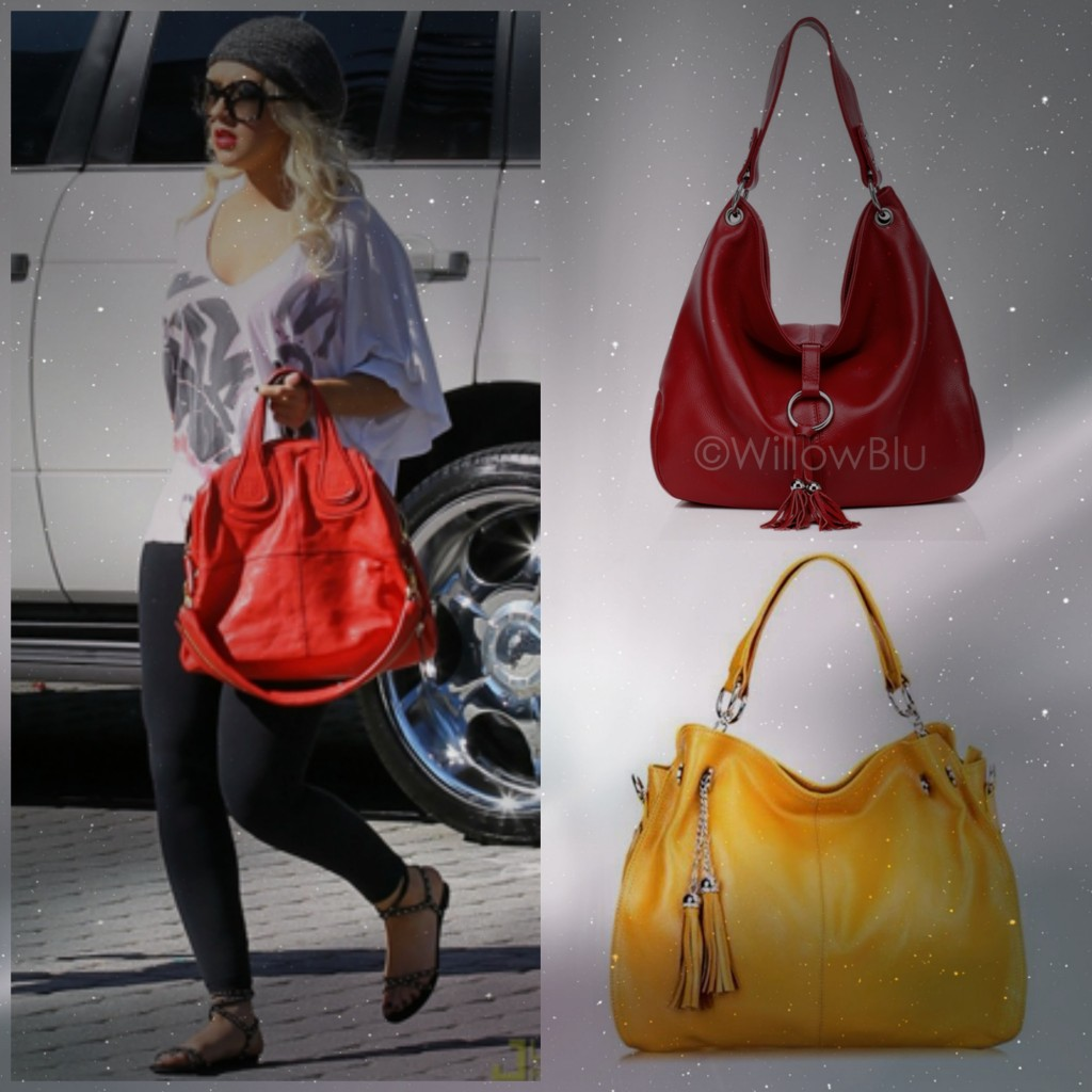 All bags from Willow Blue. Images courtesy of Christina Aguilera