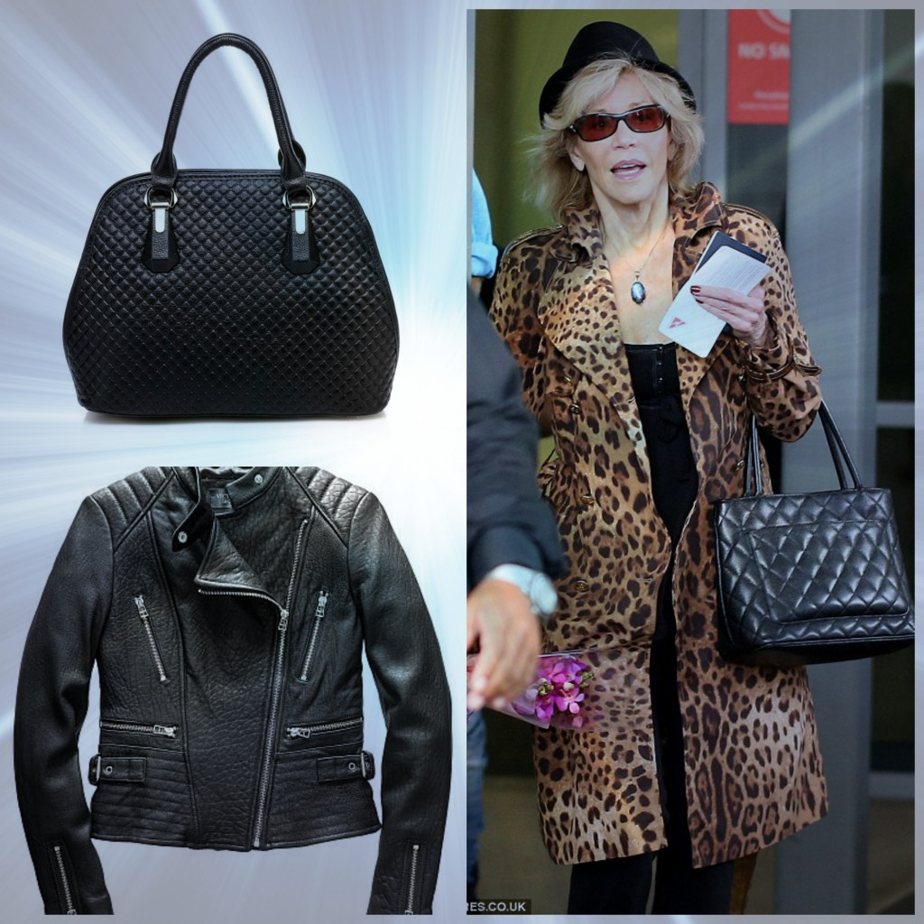 All bags from Willow Blue. Jane Fonda. Images courtesy of dailymail.co.uk